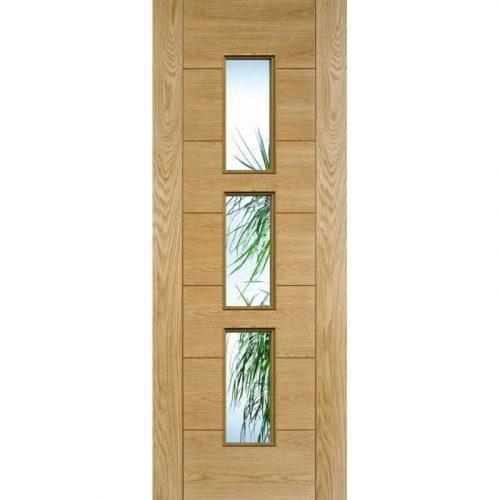 Hampshire Glazed Prefinished Oak Internal Door