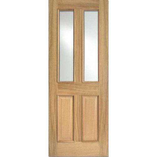 Richmond RM2S Glazed Oak Internal Door