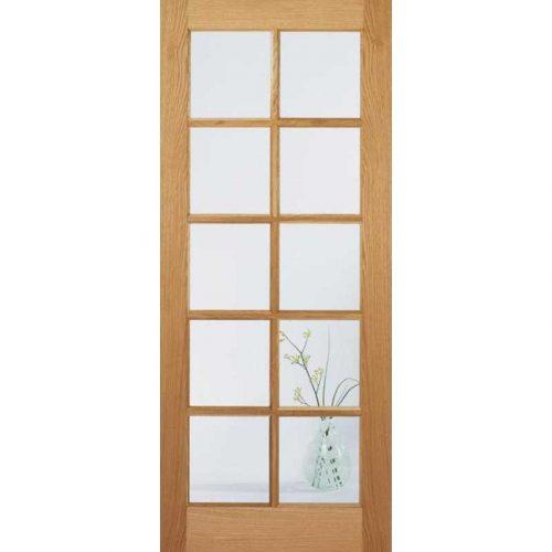 SA 10 Light with Clear Glass Internal Door