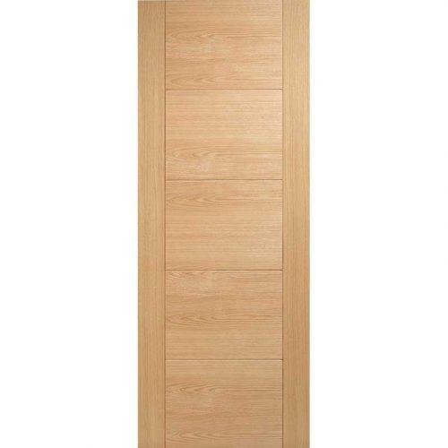 Pre Finished Oak Vancouver 5P Internal Door