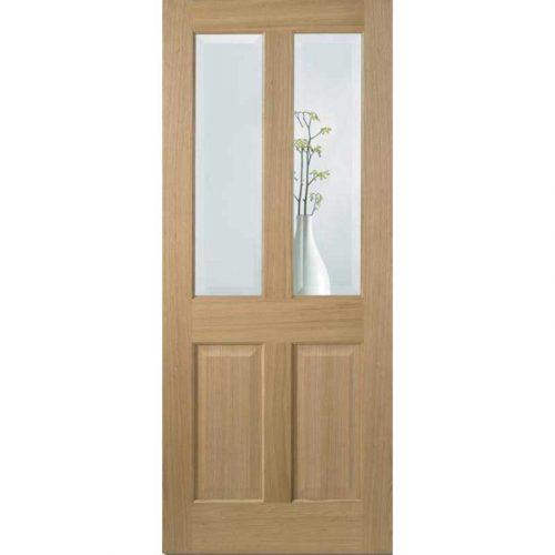 Richmond Clear Glazed Prefinished Oak Internal Door