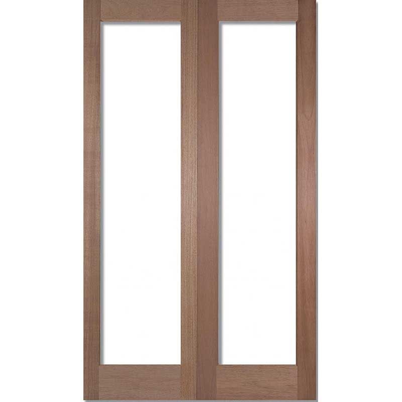 Pattern 20 Unglazed Hardwood Internal Door