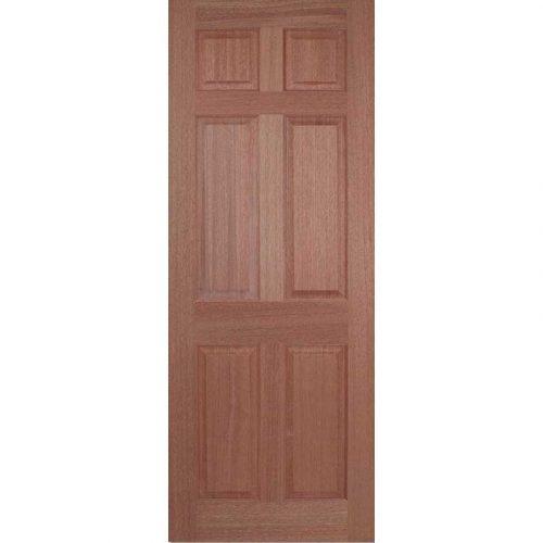 Regency 6 Panel Hardwood Internal Door