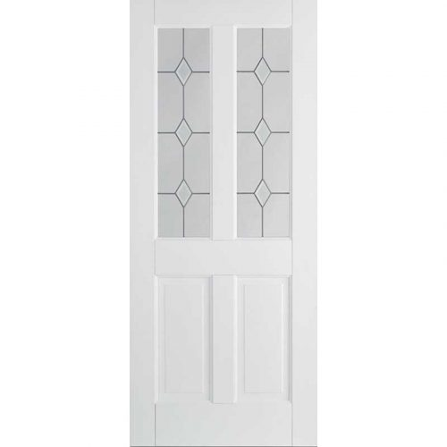 WHITE CANTERBURY 2P GLAZED 2L