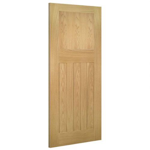 Cambridge Interior Oak Door Unfinished