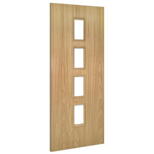 Galway Unglazed Interior Oak Door