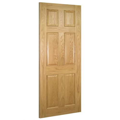 Oxford Interior Oak Door Prefinished