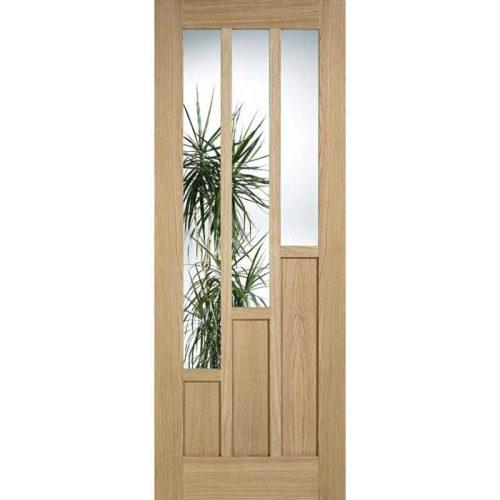 Coventry Glazed Oak Internal Door