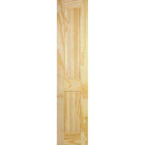 2 Panel Clear Pine Internal Door