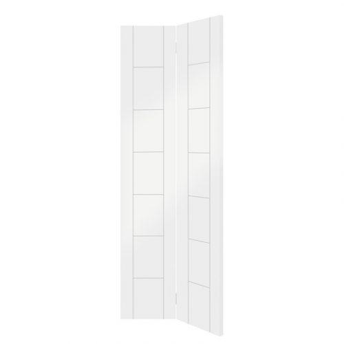 Palermo Bi-Fold Internal White Primed Door