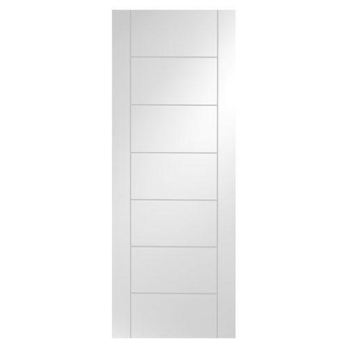 Palermo Internal White Primed Door
