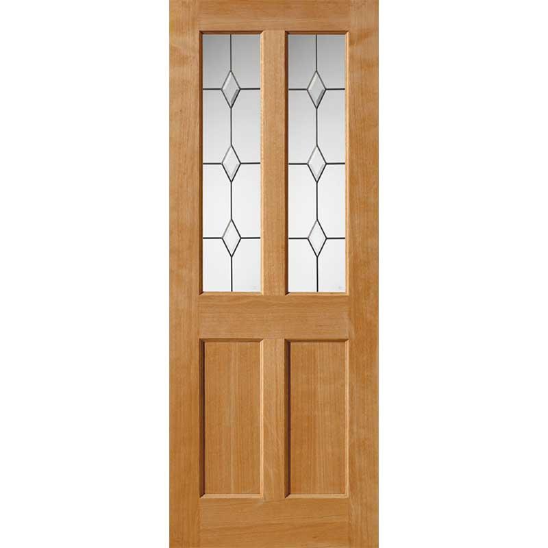 River Oak Traditional Churnet Glazed Door
