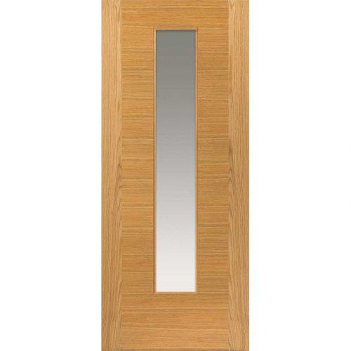 Brisa Ostria Oak Pre Finished Glazed Door