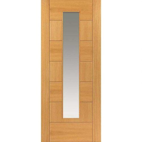 Brisa Sirocco Oak Pre Finished Glazed Door