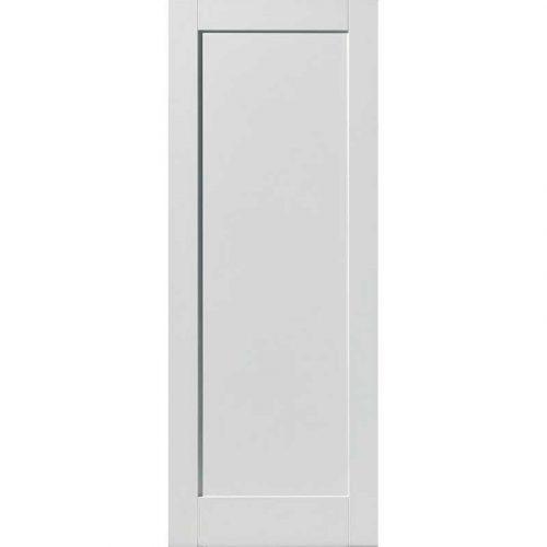 Calypso Antigua White Primed Door