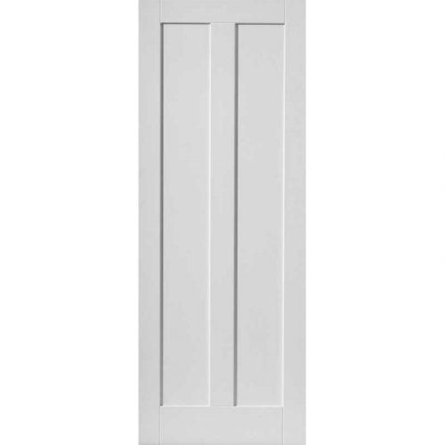Calypso Barbados White Primed Door