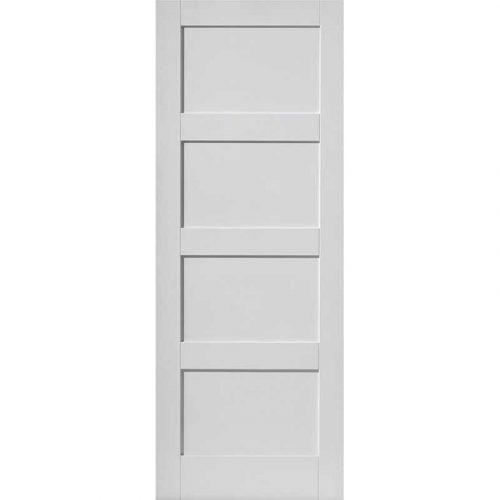 Calypso Montserrat White Primed Door