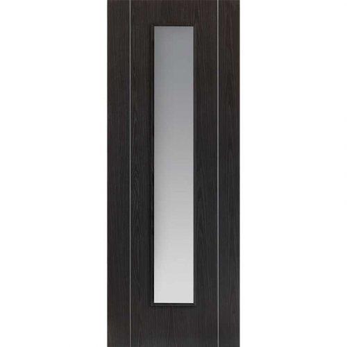 Eco Argento Ash Grey Glazed Door