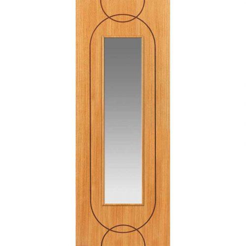Elements Agua Oak Glazed Internal Door