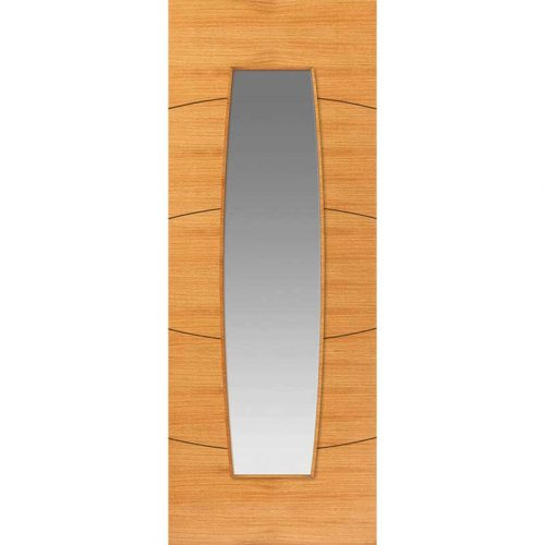 Elements Sol Oak Glazed Internal Door