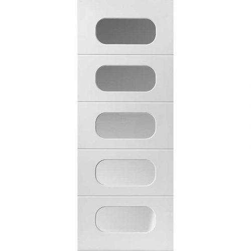 Limelight Regent Glazed White Primed Door