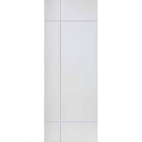 Limelight Lyric White Primed Door