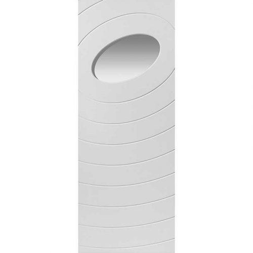 Limelight Oriole Glazed White Primed Door