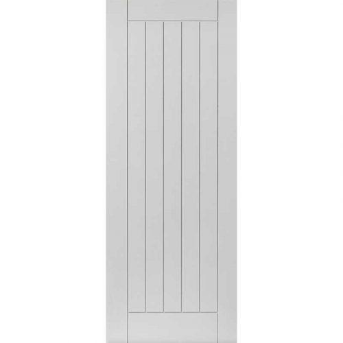 Limelight Savoy White Primed Door