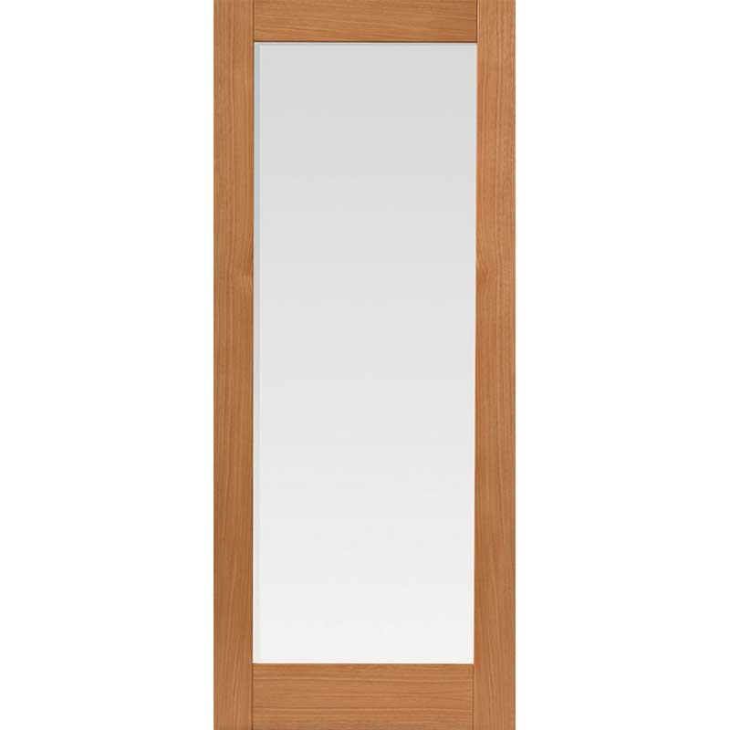 Montana Fuji Oak Glazed Internal Door
