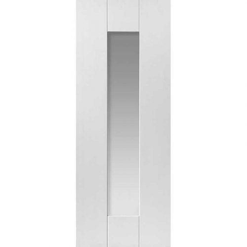 Symmetry Axis Glazed Internal White Primed Door