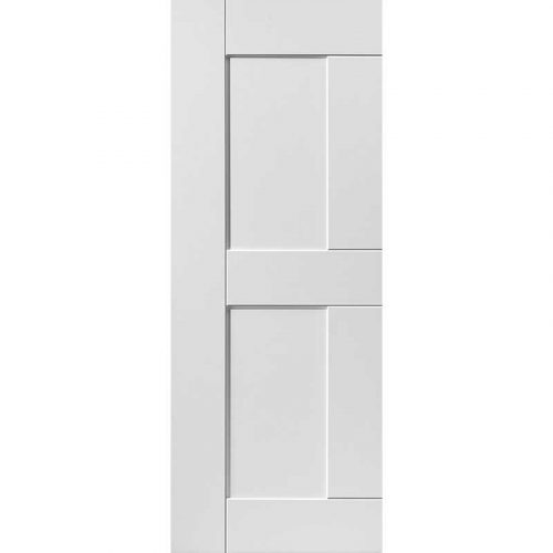 Symmetry Eccentro Solid Internal White Primed Door