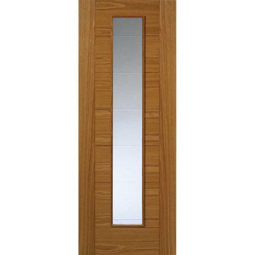 Royale Modern VP7-1VCB Oak Glazed Door