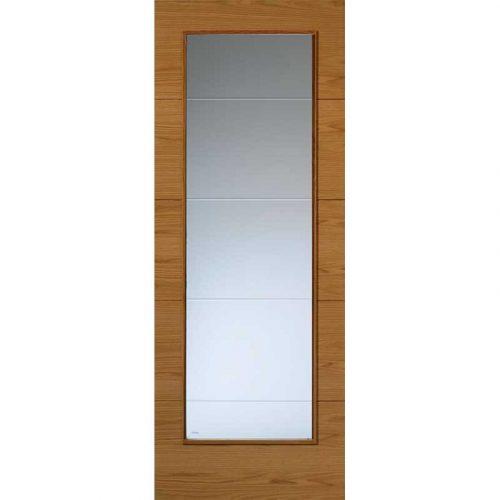 Royale Modern VT5-1VB Oak Door