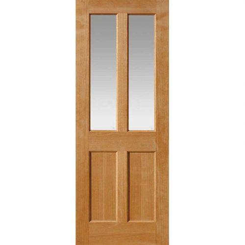 River Oak Traditional Severn Glazed Door