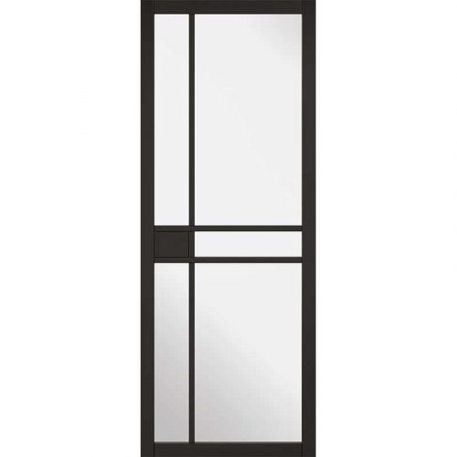 Internal Premium Black Primed Greenwich Glazed Door NEW 2019