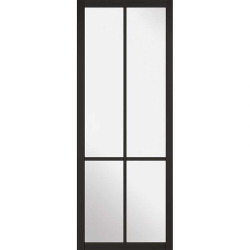 Internal Black Primed Liberty Glazed Door NEW 2019