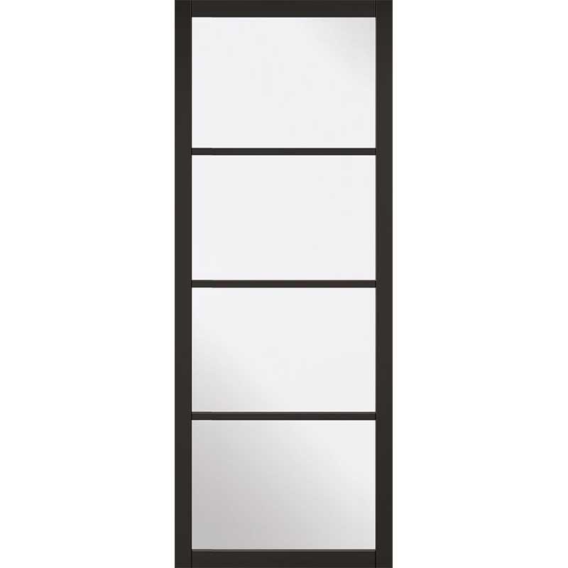 Internal Black Primed Soho Glazed Door NEW 2019