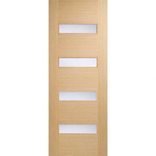 Monaco Glazed Oak Internal Door
