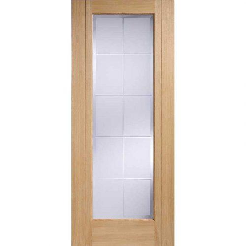 Seville Oak Glazed Internal Door