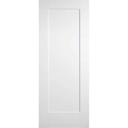 Shaker 1P White Primed Internal Door