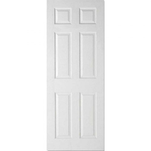White Moulded 6P Internal Door