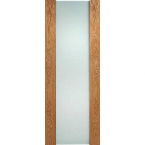 Toronto Oak Full Glazed Internal Door